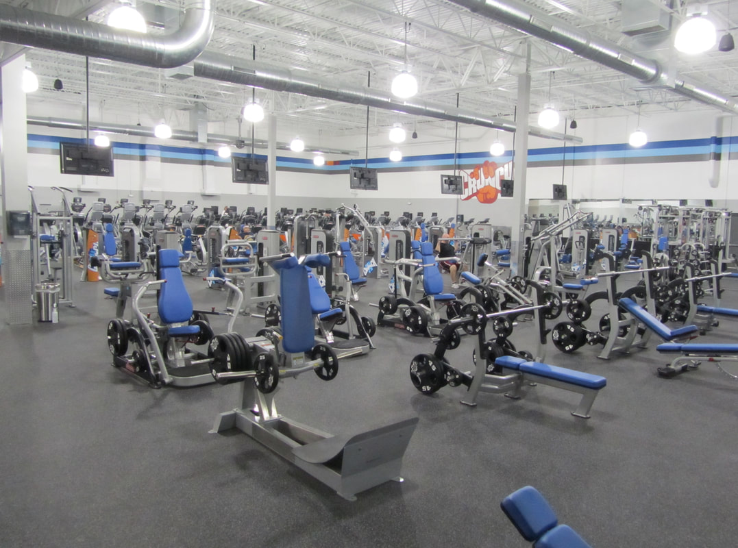 Crunch Fitness Picone Construction