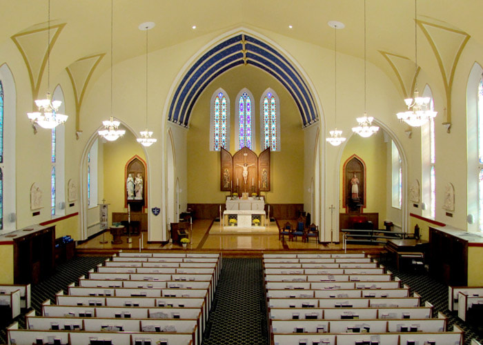 Worship projects built by Picone Construction